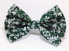 Mabel & Mu Pet Bow Tie - Holly - from